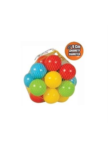 Pilsan Pilsan Top Oyun Havuzu Topu 9 Cm 10 Adet 06-155 Renkli